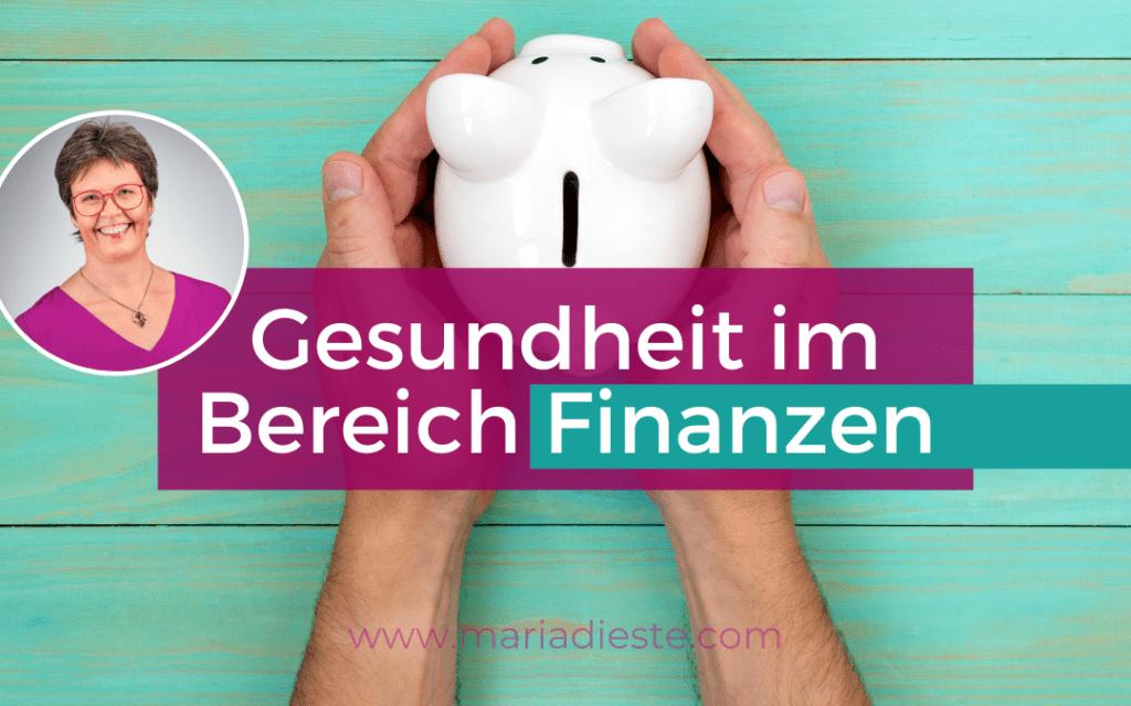 Gesundheit im Bereich Finanzen